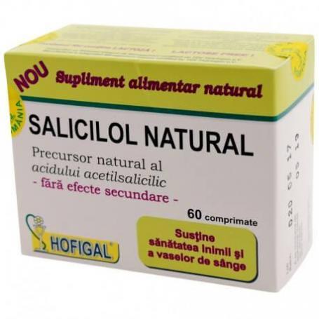 Salicilol Natural (Aspirina Naturala) 60tb Hofigal