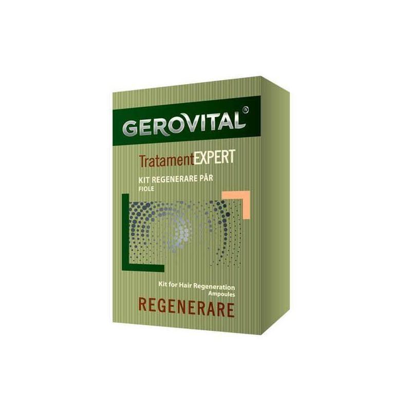 Kit regenerare par Gerovital TratamentExpert, 20 fiole, Farmec