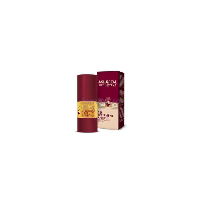 Aslavital - ser tratament antirid, 15 ml, Farmec