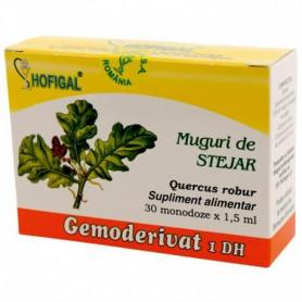 Muguri de Stejar, Gemoderivat, 30 monodoze, Hofigal