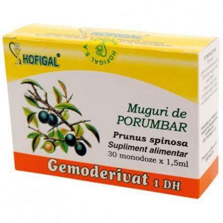 Muguri de Porumbar, Gemoderivat, 30 monodoze, Hofigal