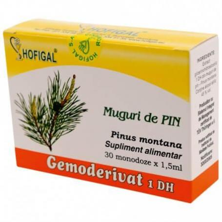 Muguri de Pin Gemoderivat, 30 monodoze, Hofigal