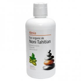 Suc organic de Noni Tahitian, 1000 ml, Alevia