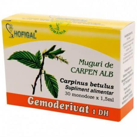 Muguri de Carpen alb Gemoderivat, 30 monozode, Hofigal