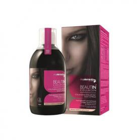 Beautin collagen, 500ml capsuni si vanilie, My Elements