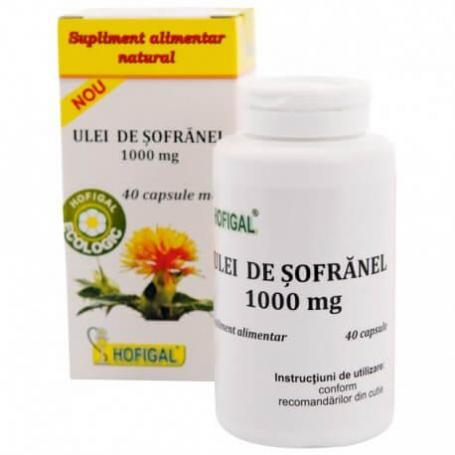 Ulei de Sofranel, 100 mg, 40 capsule, Hofigal