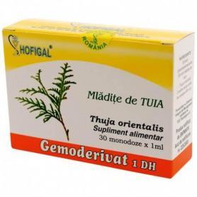 Mladite de Tuia, Gemoderivat, 30 monodoze, Hofigal