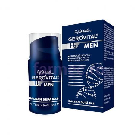 Balsam dupa ras Gerovital H3 Men, 50 ml, Farmec