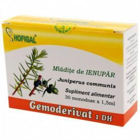 Mladite de Ienupar Gemoderivat, 30 monodoze, Hofigal