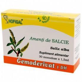 Amenti de Salcie Gemoderivat, 30 monodoze, Hofigal