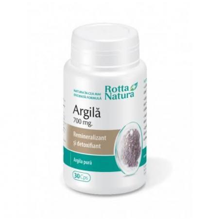 Argila, 30 capsule, Rotta Natura