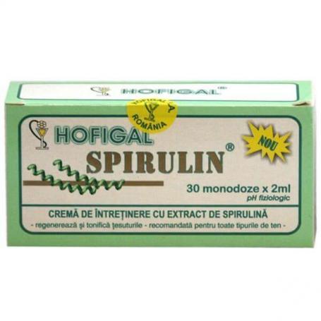 Crema Spirulin, 30 monodoze, Hofigal