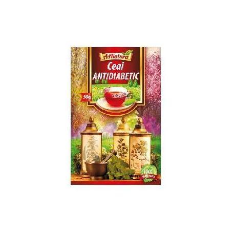Ceai antidiabetic, 25dz, Adserv