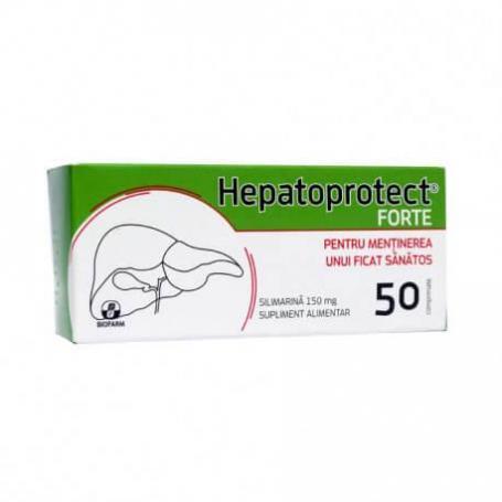 Hepatoprotect Forte, 50 comprimate, Biofarm