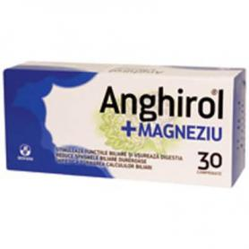 Anghirol + Magneziu, 30 comprimate, Biofarm
