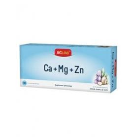Bioland Ca + Mg + Zn, 30cps, Biofarm