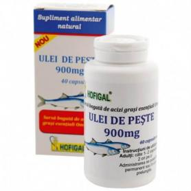 Ulei de peste, 900 mg, 40 capsule, Hofigal