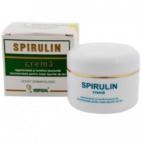 Crema Spirulin 50gr Hofigal