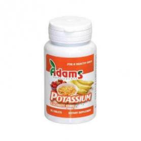 Gluconat de potasiu 99mg 90 tablete Adams Vision
