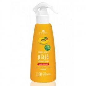 Emulsie plaja rezistenta la apa pentru copii cu ulei de catina SPF 30, 200 ml, Cosmetic Plant