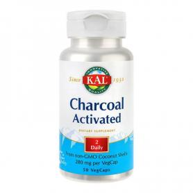 Charcoal Activated (Carbune medicinal 280mg) 50 capsule, Secom
