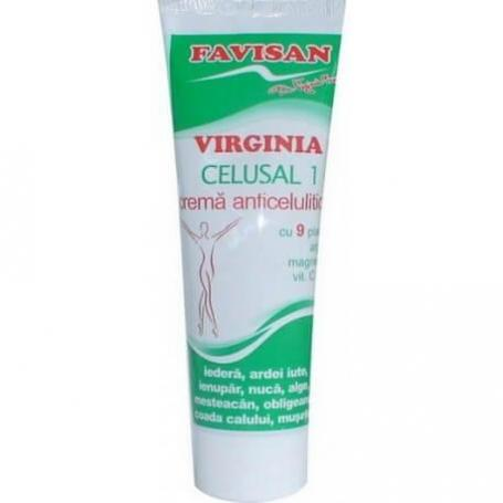 Crema Anticelulitica Virginia Celusal 100ml Favisan