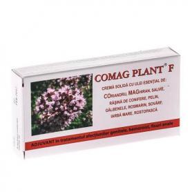 Supozitoare Comag Plant F, 10 bucati, Elzin Plant