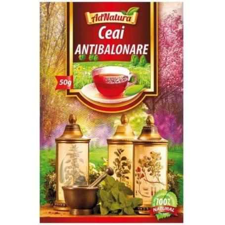 Ceai Antibalonare, 25 plicuri, AdNatura