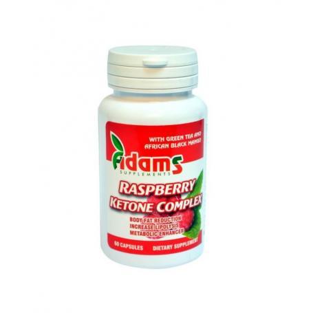 Cetona de Zmeura Raspberry Ketone Complex Adams Vision 60 cps