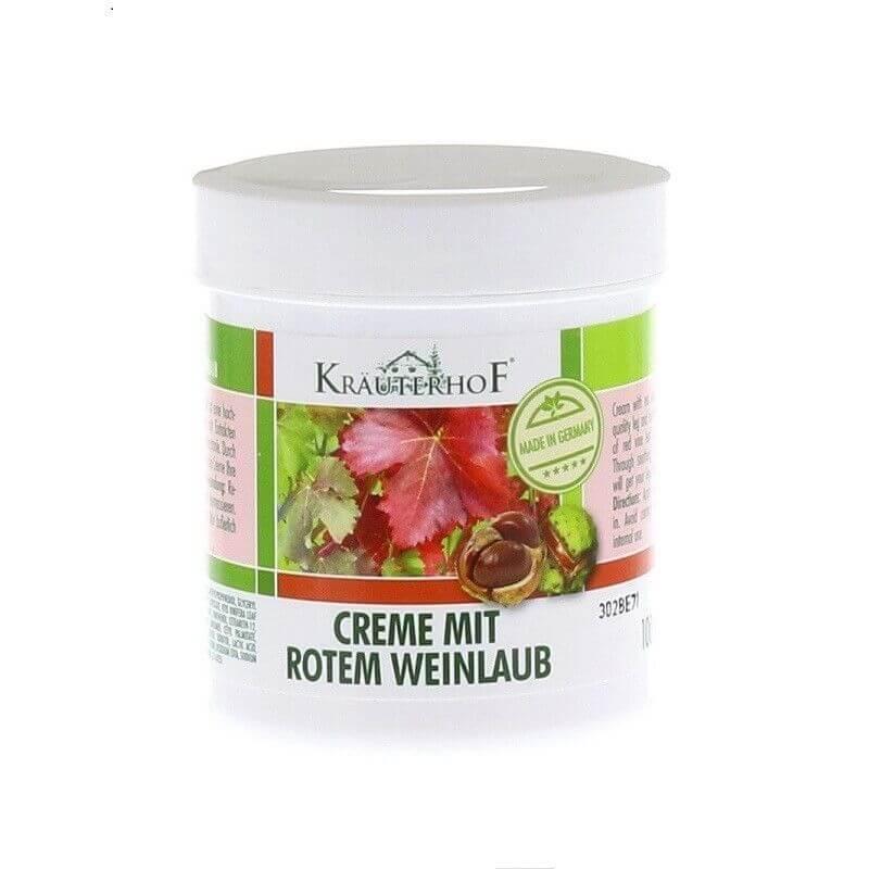 Crema cu castane si vita de vie rosie, 250 ml, Krauterhof