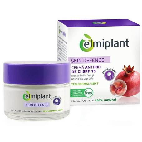 Crema Antirid Skin Defence 35+ ten normal-mixt 50ml Elmiplant