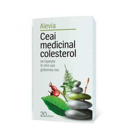 Ceai medicinal colesterol Alevia 20 pl