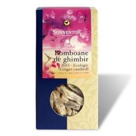 Bomboane de Ghimbir Ecologice Bio, 75 gr, Sonnentor