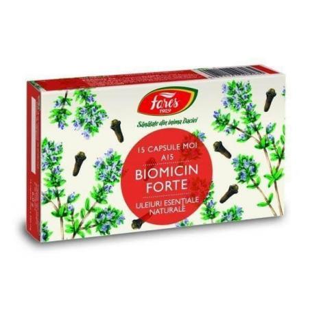 Biomicin Forte, 15 capsule, Fares (A15)