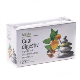 Ceai digestiv, 20 plicuri, Alevia
