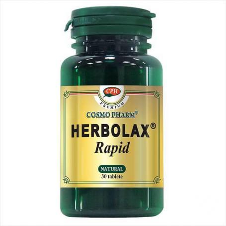 Herbolax Rapid, 60 capsule premium, Cosmopharm