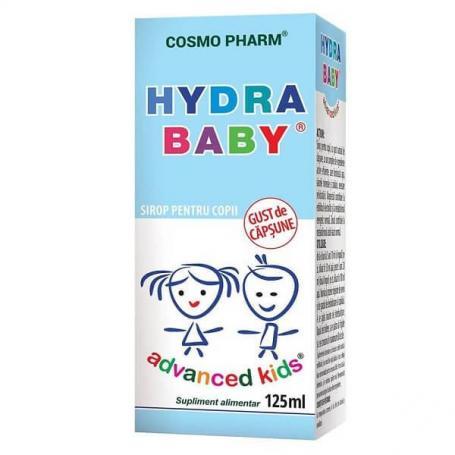 Hydra Baby Advanced Kids sirop pentru copii, 125 ml, Cosmopharm