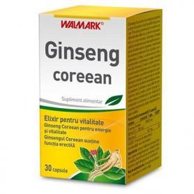 Ginseng coreean, 30 capsule, Walmark
