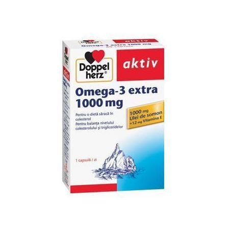 Omega 3 extra 1000 mg, 60 capsule, Doppelherz