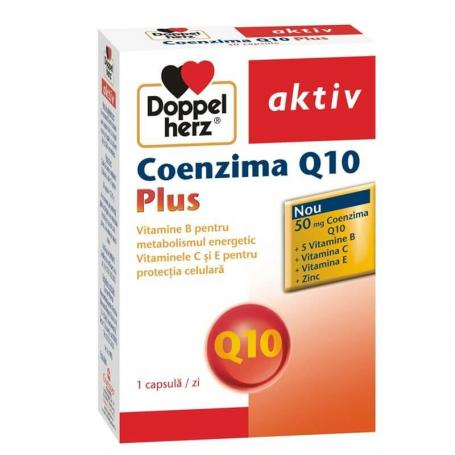 Coenzima Q10 Plus, 30 capsule, Doppelherz