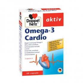 Omega 3 Cardio, 60 capsule, Doppelherz