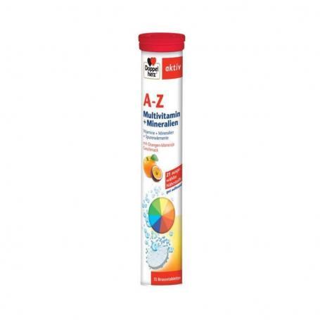 A-Z Vitamine Minerale Microelemente, 15 comprimate, Doppelherz