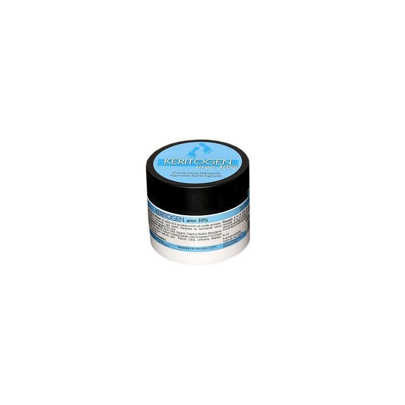 Keritogen Uree 30 Crema intens hidratanta tegumente foarte ingrosate, 50gr, Herbagen
