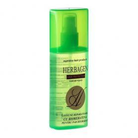 Lotiune reparatoare cu Bio Keratin pentru par degradat, 100 ml, Herbagen