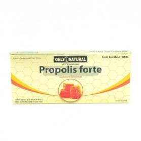 Propolis Forte 1500 mg, 10 fiole x 10 ml, Only Natural