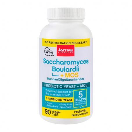 Saccharomyces Boulardii Mos, 90 capsule, Secom (Jarrow Formulas)