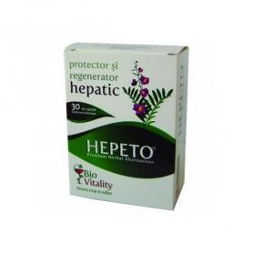 Hepeto, 30 capsule, Bio Vitality