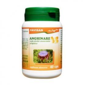 Anghinare, 40 capsule,Favisan, colesterol,afectiuni hepatice,renale