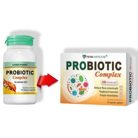 Probiotic Complex, 30 capsule, Cosmopharm