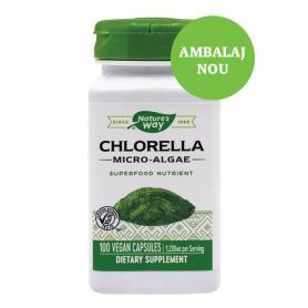 Chlorella Micro algae, 100 capsule, Secom